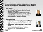 zebralution management team