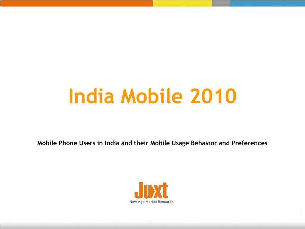 india mobile 2010 l.