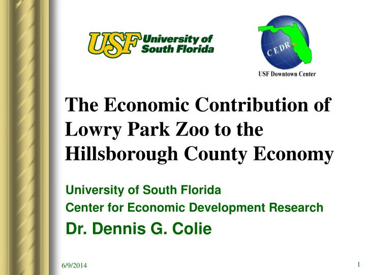 the economic contribution of lowry park zoo to the hillsborough county economy