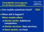 fixed mobile convergence it s all about competition7