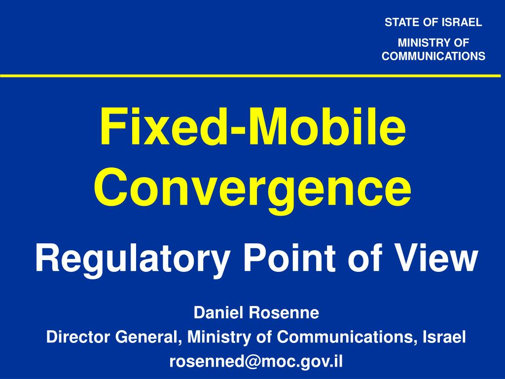 fixed mobile convergence l.