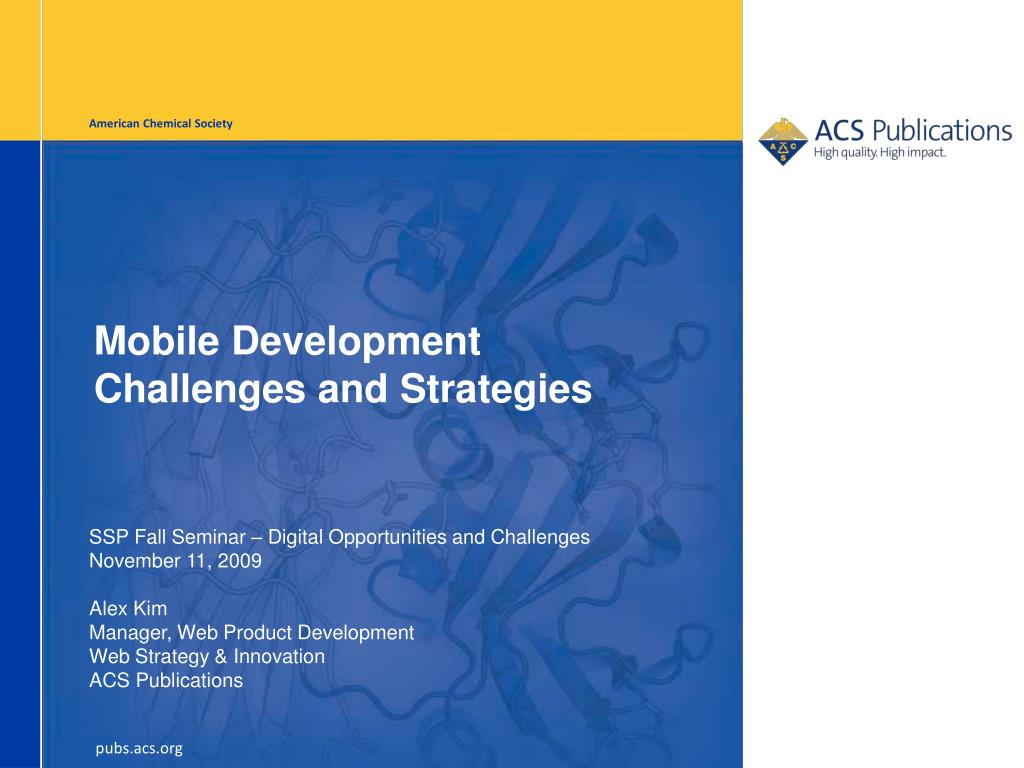 mobile development challenges and strategies l.