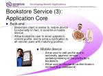 bookstore service 3 application core