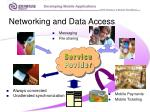 networking and data access