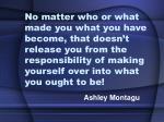 ashley montagu