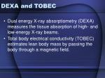 dexa and tobec