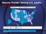 obesity trends among u s adults brfss 1986