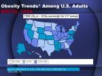 obesity trends among u s adults brfss 1988