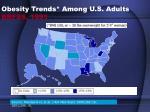 obesity trends among u s adults brfss 1991