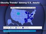 obesity trends among u s adults brfss 1993