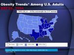 obesity trends among u s adults brfss 1994
