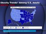 obesity trends among u s adults brfss 1995