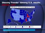 obesity trends among u s adults brfss 1997