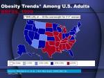 obesity trends among u s adults brfss 1999