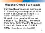 hispanic owned businesses