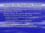 george and regulatory reform9