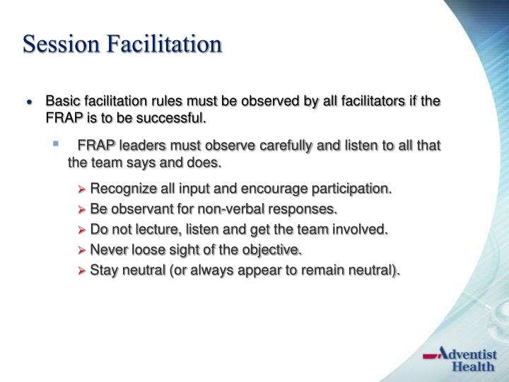 Session Facilitation