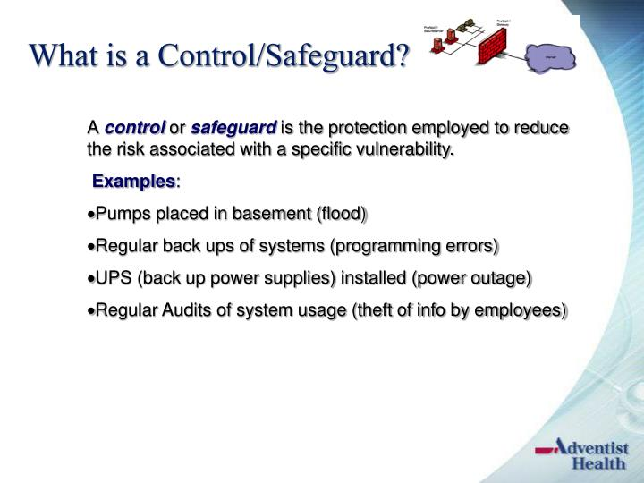 What is a Control/Safeguard?