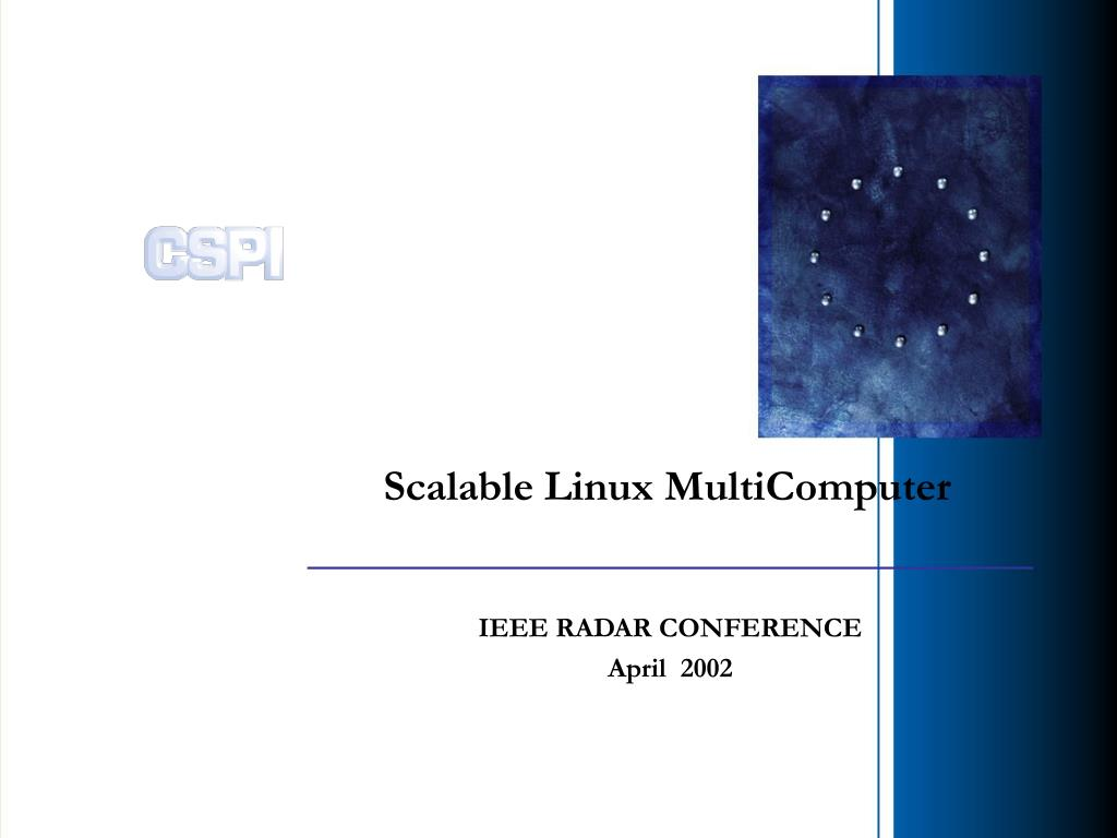scalable linux multicomputer l.