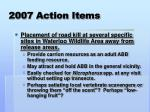 2007 action items2