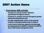2007 action items7