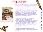 my teaching philosphy