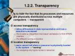 1 2 2 transparency