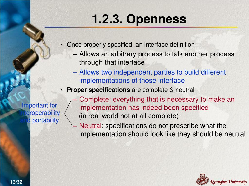 1.2.3. Openness