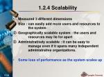 1 2 4 scalability