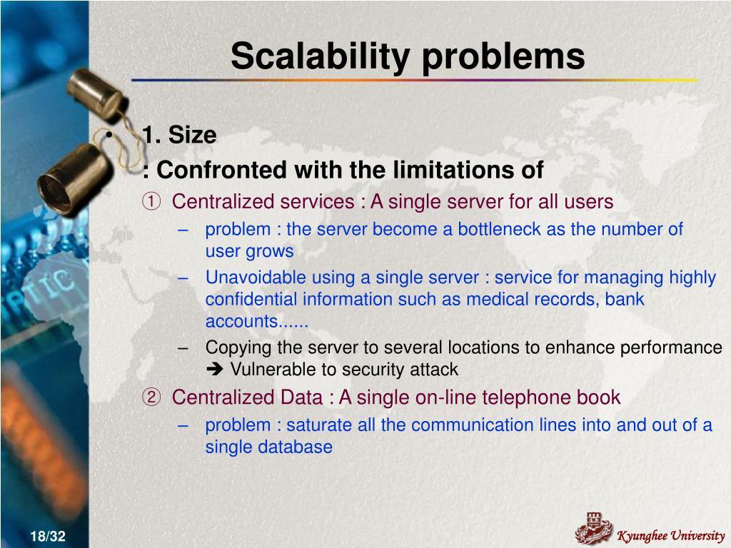 Scalability problems