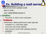 ex building a mail server