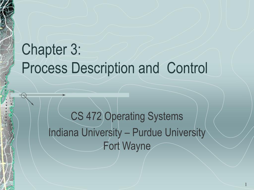 chapter 3 process description and control l.