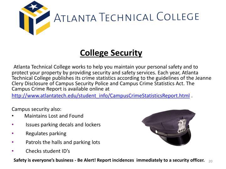 College Security