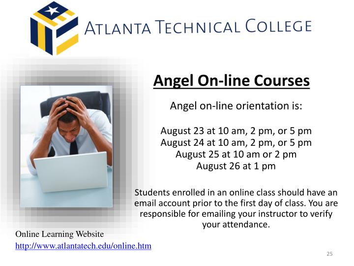 Angel On-line Courses
