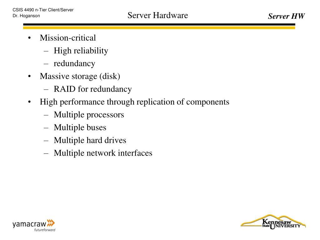 server hardware l.