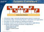 dynamic framework