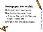 newspaper ownership