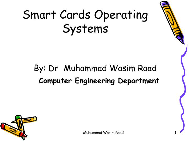 smart cards operating systems n.