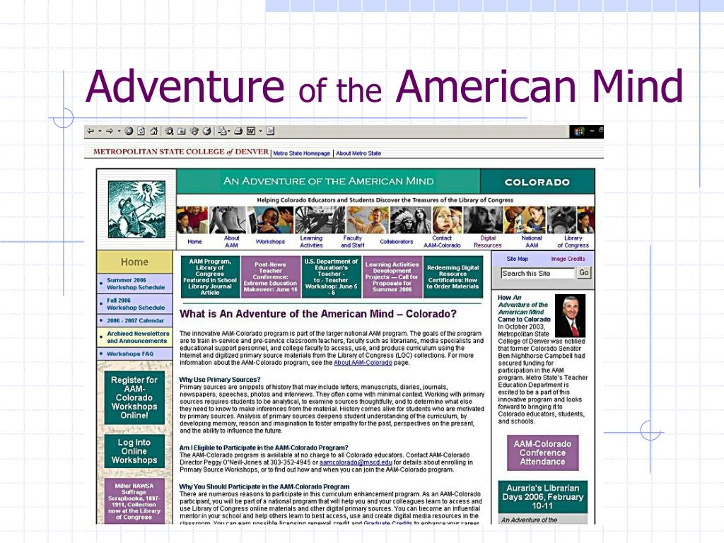 adventure of the american mind l.