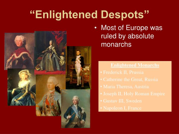 enlightened despotism Research paper on catherine the great of russia as an enlightened despot free sociology essays for students.
