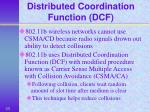 distributed coordination function dcf
