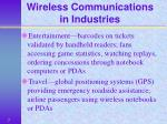 wireless communications in industries7