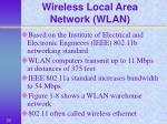 wireless local area network wlan