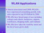 wlan applications