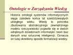 ontologie w zarz dzaniu wiedz2