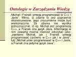 ontologie w zarz dzaniu wiedz3