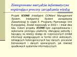 zintegrowane n arz dzia informatyczne wspieraj ce procesy zarz dzania wiedz1