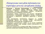 zintegrowane n arz dzia informatyczne wspieraj ce procesy zarz dzania wiedz6