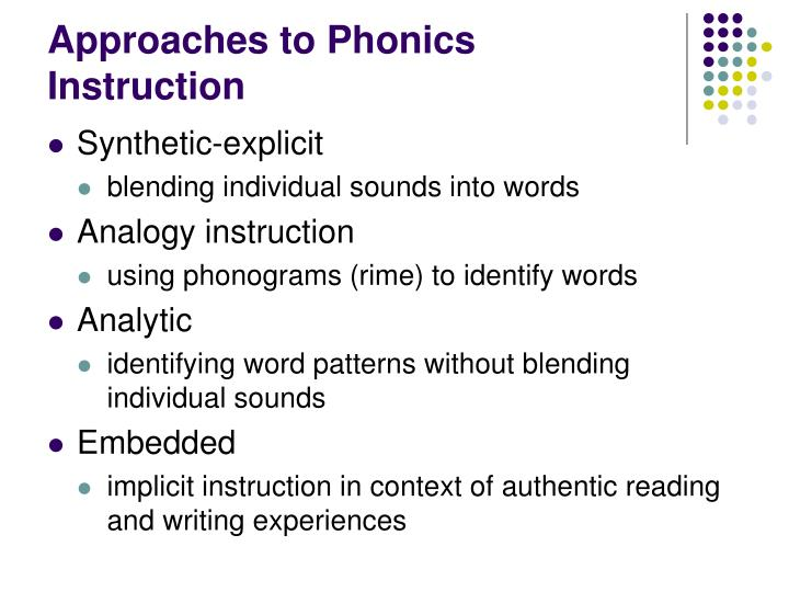 Ppt Chapter 6 Phonics Powerpoint Presentation Id489094