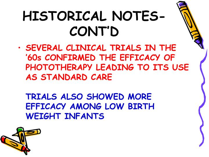 HISTORICAL NOTES-CONT'D